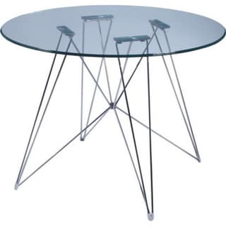 "Magis Xz23 Dining Table Table, 39"" Tempered Glass Top"