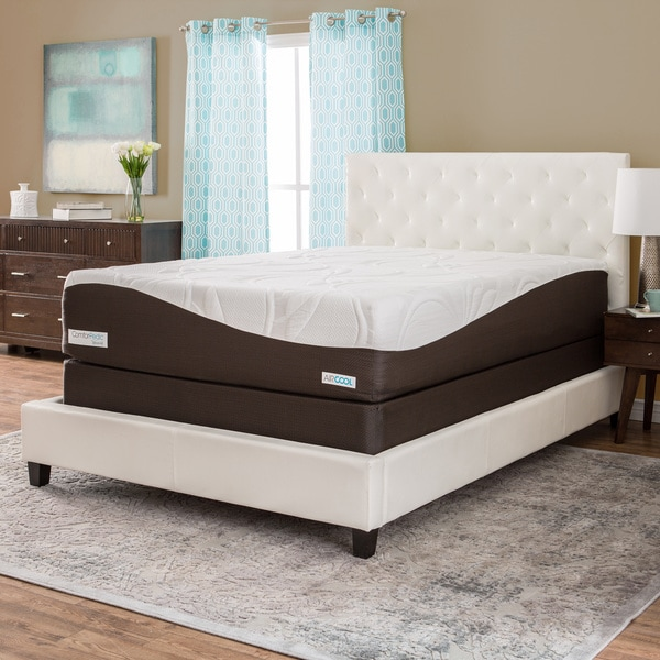 ComforPedic from BeautyRest 14-inch Full-size Memory Foam Mattress Set