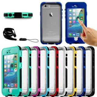 Gearonic Waterproof Shockproof Snow Proof Case Cover for iPhone 6 6S