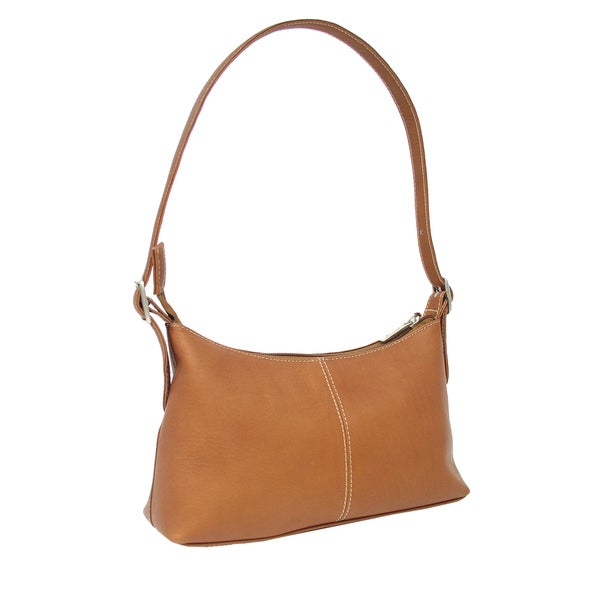 Piel Leather Mini Shoulder Handbag