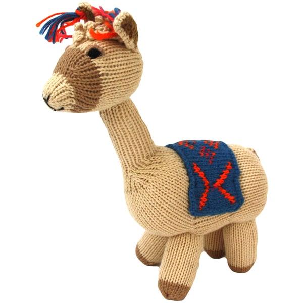 Cotton Llama Stuffed Animal (Peru)