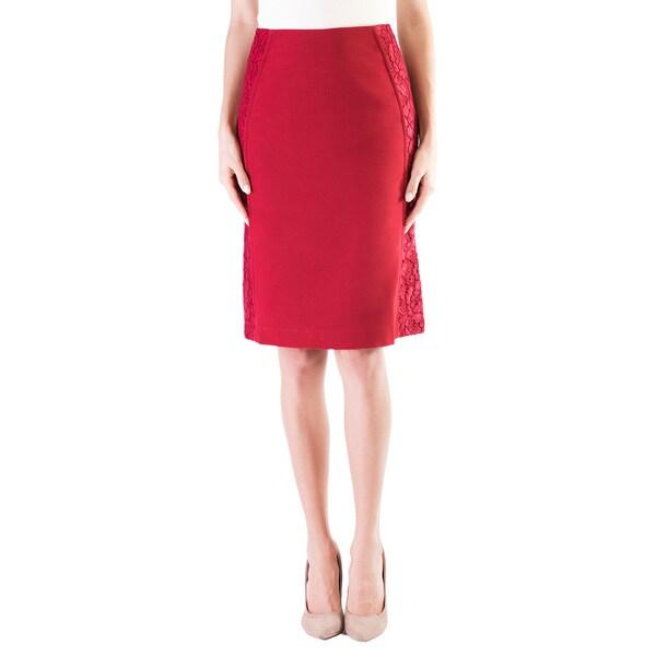 DownEast Basics Women's Side Swipe Skirt