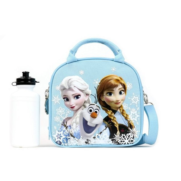 Disney Frozen Lunch Box Kit - Snow Blue