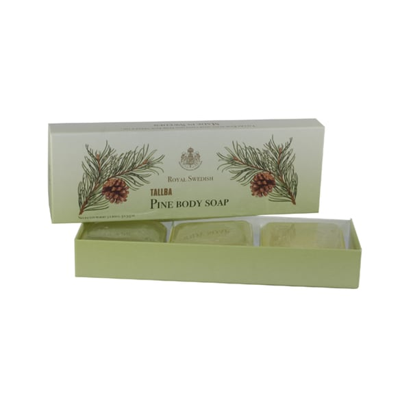 Victoria Tallba Soap Women's Pine 3.5-ounce Body Soap (Pack of 3)