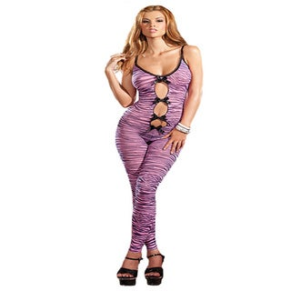 Zebra Print Bodystocking