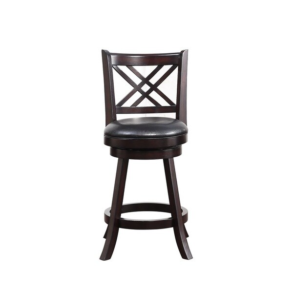 24 Inch Porto Swivel Counter Stool 17975872 Overstock