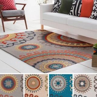 Artistic Weavers Hand-Tufted Gail Wool / Viscose Rug (5' x 8')