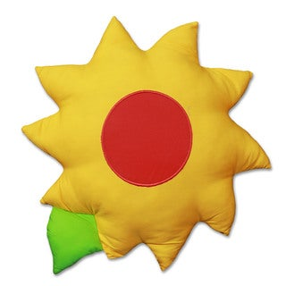 Snuggleberry Baby Sunflower Love Flower Decorative Accessory/Pillow