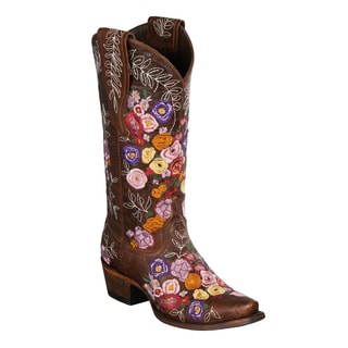 Lane Boots 'Valentine' Women's Leather Cowboy Boot