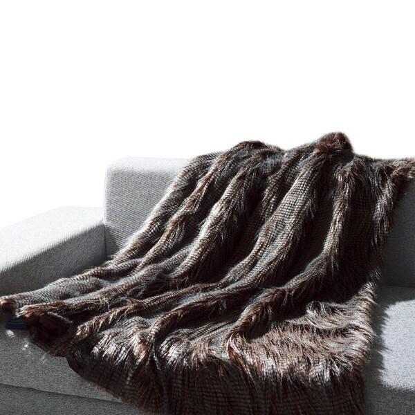 Anna Ricci Faux Fur Animal Throw