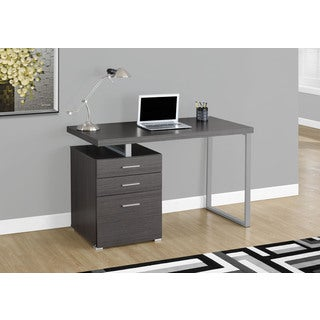 Grey 48-inch Left or Right Facing Computer Desk