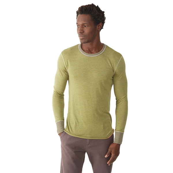Alternative Apparel Men's Feeder Long-Sleeve Crew 16914261
