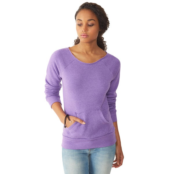 Alternative Apparel Women's Maniac Eco Fleece Sweatshirt