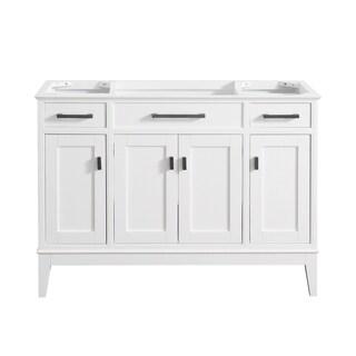 Avanity Madison 48-inch Vanity Only in White