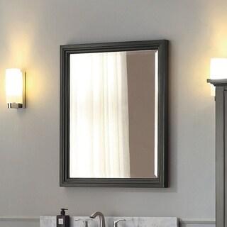 Avanity Thompson 28 Inch Charcoal Glaze Mirror