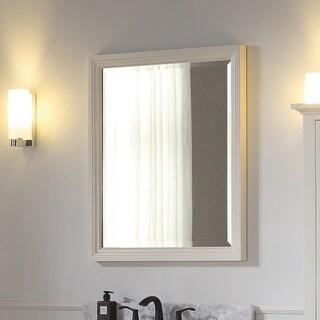 Avanity Thompson 28 Inch French White Finish Mirror