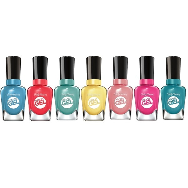 Sally Hansen Miracle Gel 7-Piece Nail Polish Set