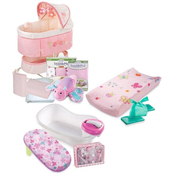 "Summer Infant ""Ready For Baby"" Newborn Essentials Bug-Themed 30-Piece Kit"