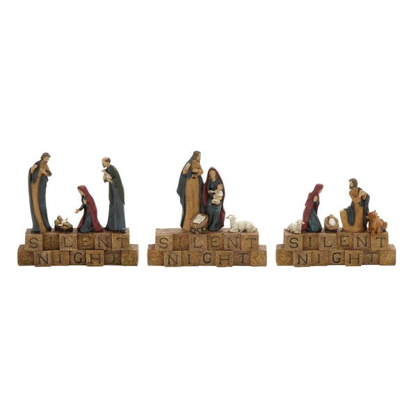 3 Assorted Holy Family