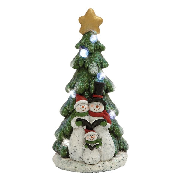 LED Snowmen Tree