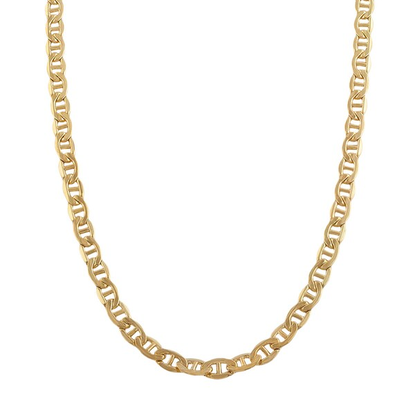14k Gold Mariner Chains