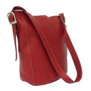 Piel Leather Bucket Bag