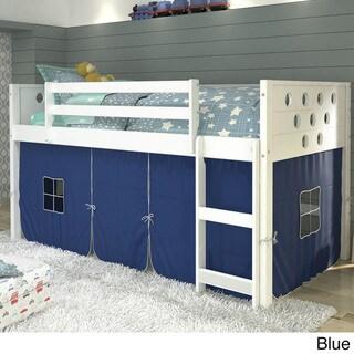 Donco Kids' Twin Circles Low Tent White Loft