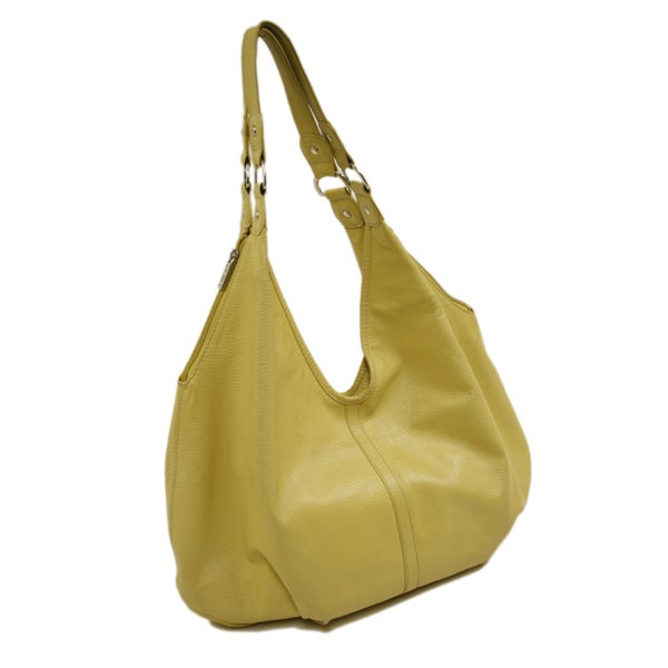 Piel Leather Large Hobo Handbag