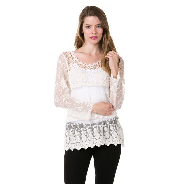 High Secret Women's Lace Top