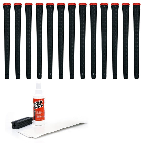 Champ C2 Standard 13-piece Golf Grip Kit with Tape/ Solvent/ Vise Clamp