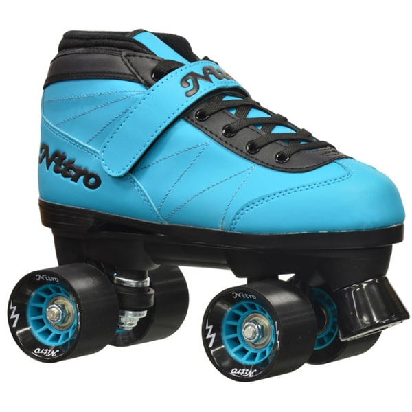 Epic Nitro Turbo Blue Quad Speed Roller Skates