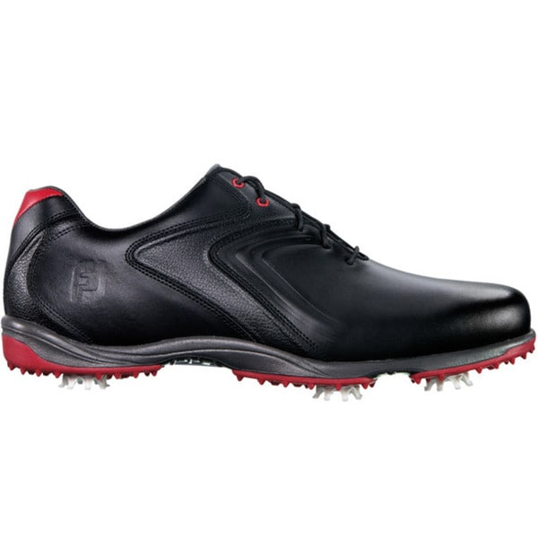 FootJoy Mens HydroLite Black/Red Golf Shoes