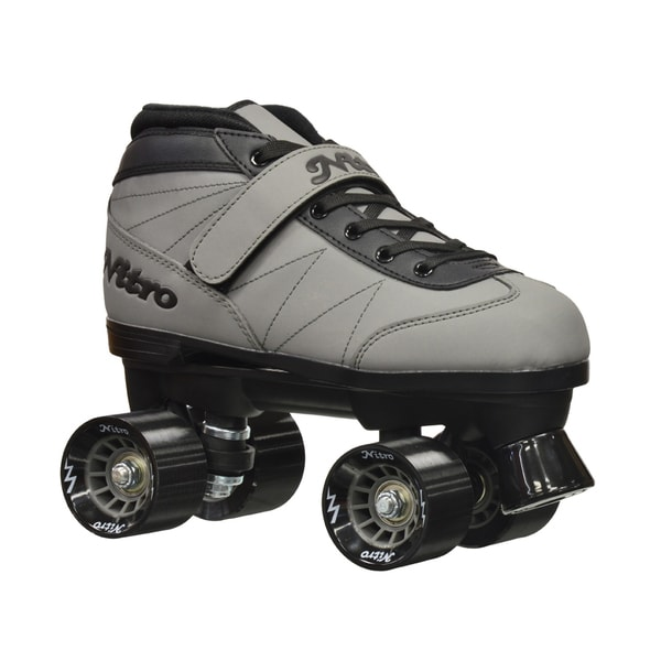 Epic Nitro Turbo Grey Quad Speed Roller Skates