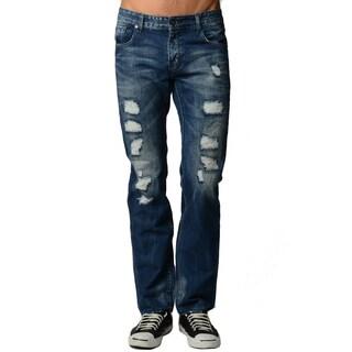 Dinamit Men's Distressed Blue Jeans