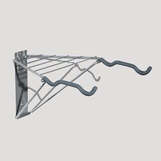 Pablo 2-bike Rack with Shelf
