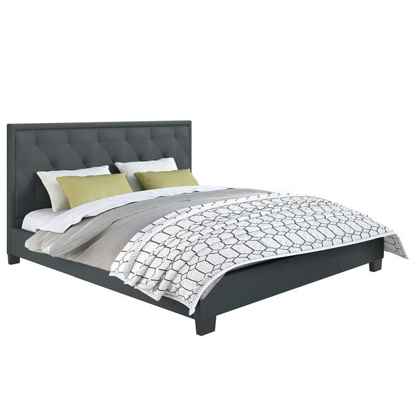 Fairfield Diamond Tufted Upholstered King Bed