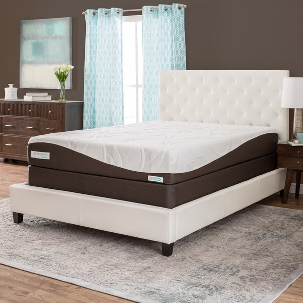 ComforPedic from BeautyRest 10-inch Queen-size Memory Foam Mattress Set