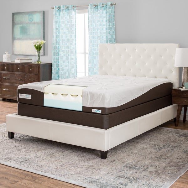 ComforPedic from BeautyRest 10-inch Full-size Memory Foam Mattress Set