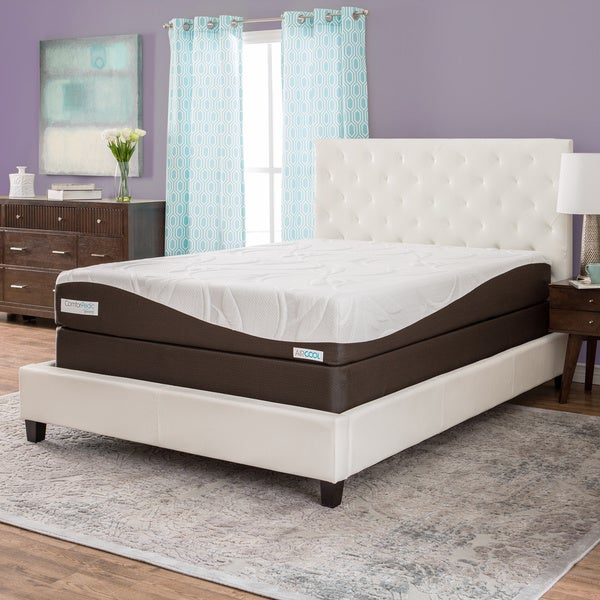 ComforPedic from BeautyRest 10-inch Twin-size Memory Foam Mattress Set