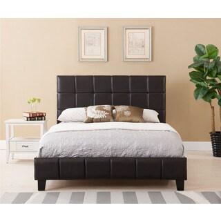 Bed Sale   Sale Brown Upholstered Platform Bed Today