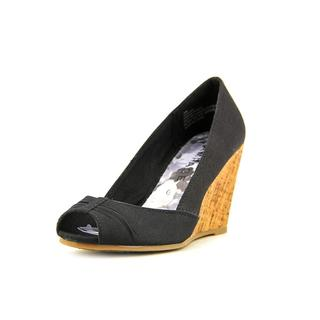 Rampage Women's 'Kayson' Canvas Wedges Shoes