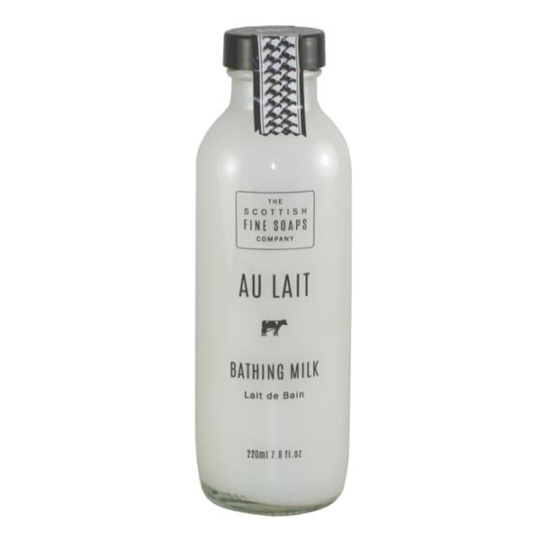 Scottish Fine Soaps Au Lait Women's 7.8-ounce Bathing Milk