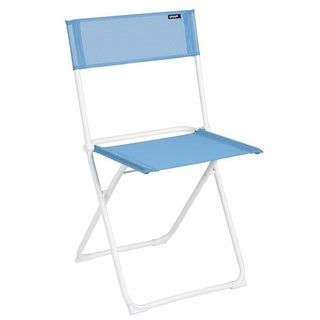 Lafuma Anytime White Frame Folding Chair (Set of 2)