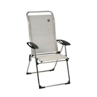 Cham'Elips Alu brut Steel Folding Armchair