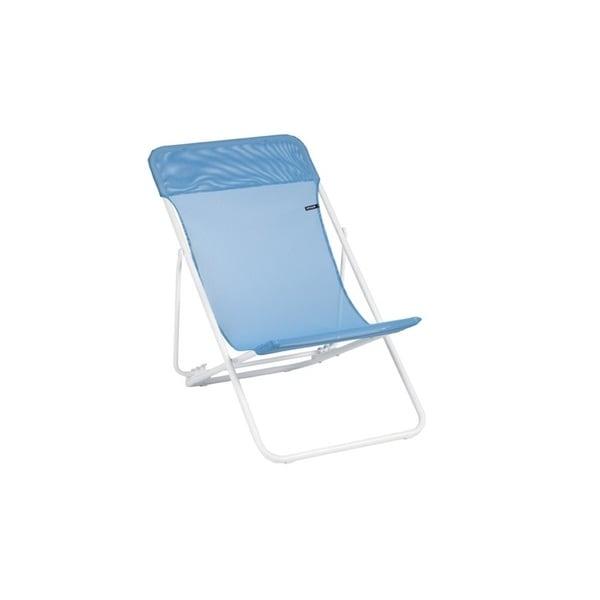 Lafuma Maxi Transat White Frame Steel Folding Sling Chair (Set of 2)