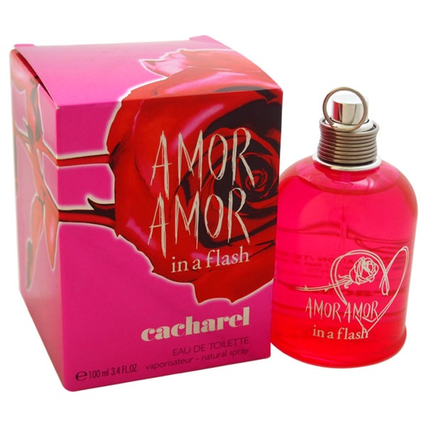 Cacharel Amor Amor In A Flash Women's 3.4-ounce Eau de Toilette Spray (Tester)