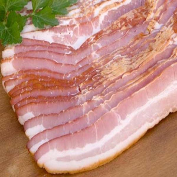 The Badlands Farms Organic Applewood Smoked Center Cut Bacon
