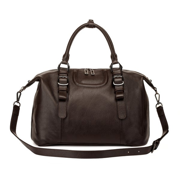 Roxy Leather Top handle Handbag