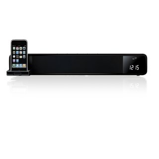 iLive ITP100 2-channel Bar Speaker Dock System for Apple iPhone and iPod