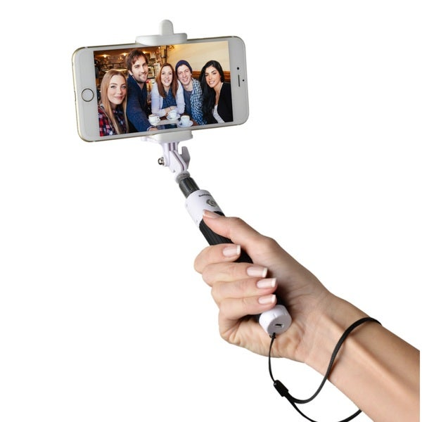 Selfie Stixx Pocket Foldable Selfie Stick Black